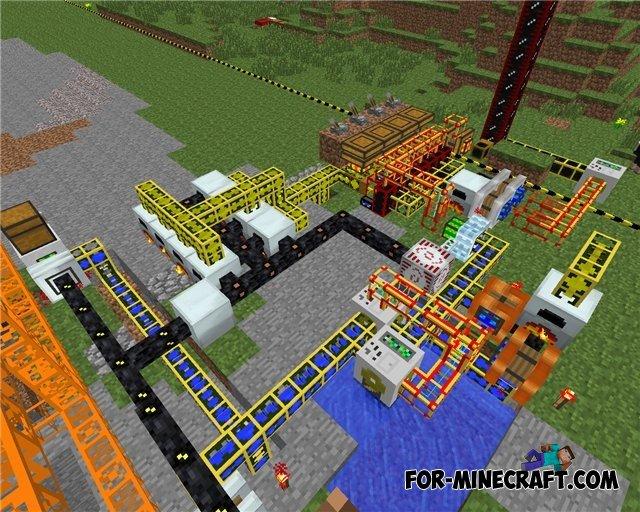Minecraft Industrial Craft 2 1 0