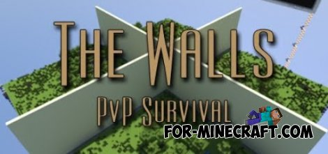 Walls server by LBSG for Minecraft PE 0.10.5