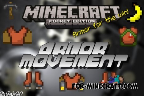 Armor Movement mod for Minecraft PE 0.10.5