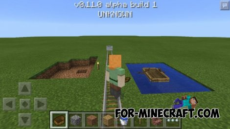 Skin System in Minecraft PE 0.11.0