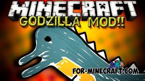 Godzilla Mod for Minecraft PE 0.10.5