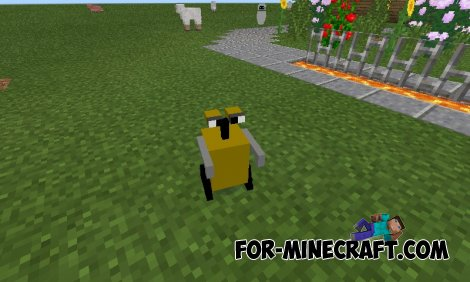 Wall-E mod for Minecraft Pocket Edition 0.10.5