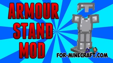 Armor Stand mod for MCPE 0.10.5
