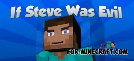 Evil Steve mod for MCPE 0.10.5