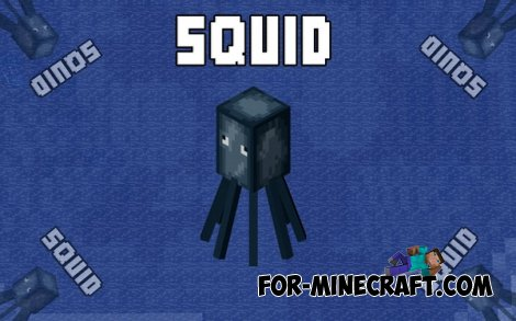 Squid mod for MCPE 0.10.5