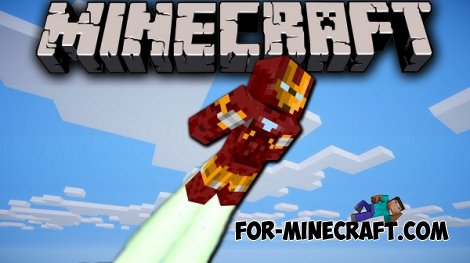 Iron Man mod for Minecraft PE 0.10.5 / 0.11.0 / 0.11.1