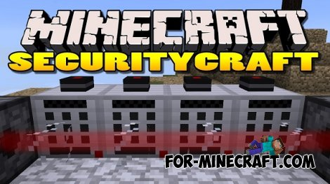 SecurityCraft mod for MCPE 0.10.5