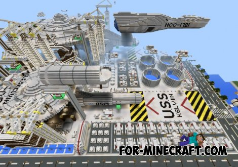 Star Trek map for Minecraft PE 0.10.5/0.11.0
