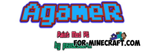 AgameR Paint Mod for Minecraft PE 0.10.5