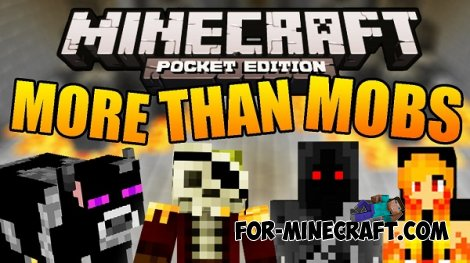 AgameR More Than Mobs mod for Minecraft PE 0.10.5