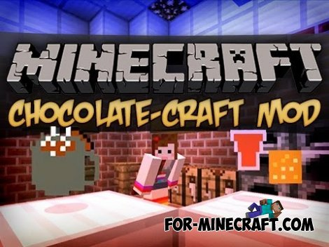 Chocolate Craft mod for Minecraft PE 0.10.5 / 0.11.0