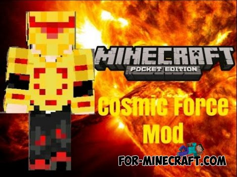 Cosmic Force mod for Minecraft PE 0.10.5 / 0.11