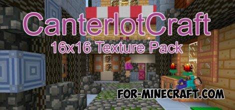 CanterlotCraft texture for MCPE 0.10.X