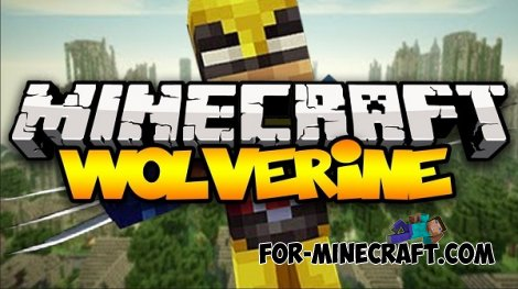 Wolverine mod for Minecraft PE 0.10.5