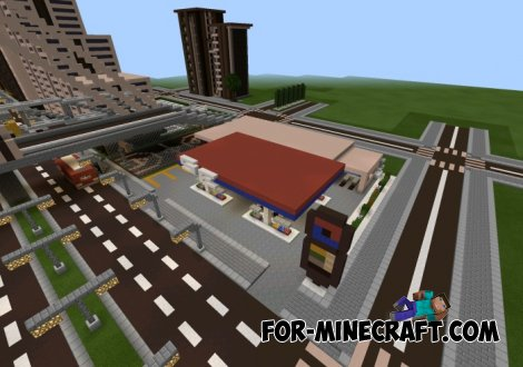 StrillFord City map for MCPE 0.10.5 / 0.11