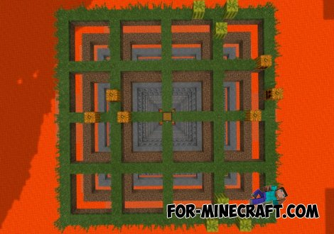 The Grid PE map for Minecraft PE 0.11.0