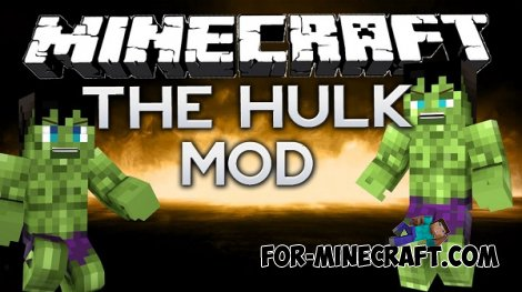 Hulk mod for Minecraft Pocket Edition 0.10.5