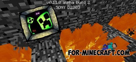 Map of passage for Minecraft PE 0.11.0