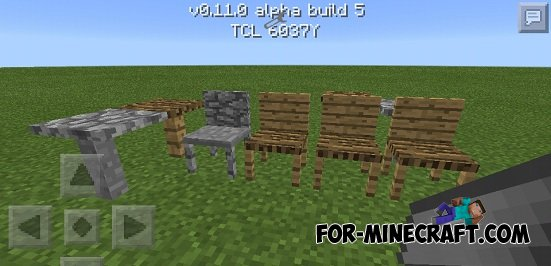 Mrcrayfish 39 s furniture mod v6 for minecraft pe for Modern house minecraft pe 0 12 1