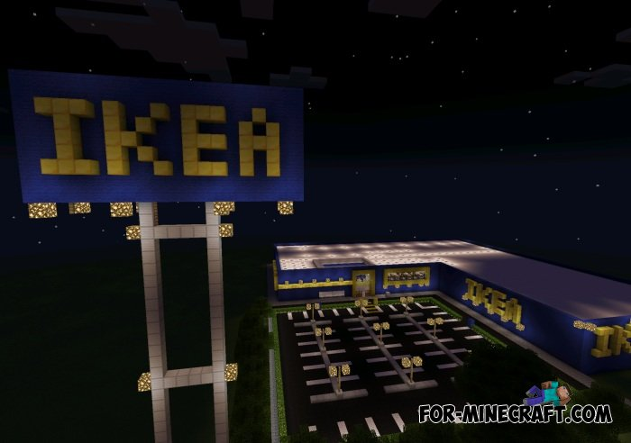 Ikea shopping center map for minecraft pocket edition for Craft com online shopping