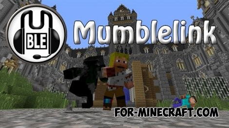 MumbleLink mod for Minecraft 1.8