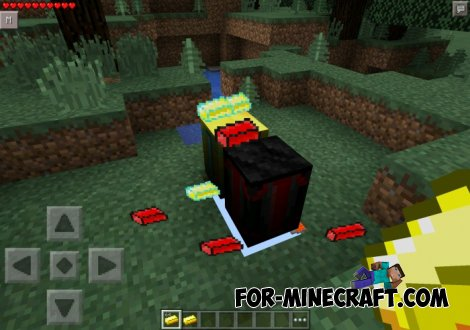 Heaven & Hell Gear Mod for Minecraft PE 0.10.5