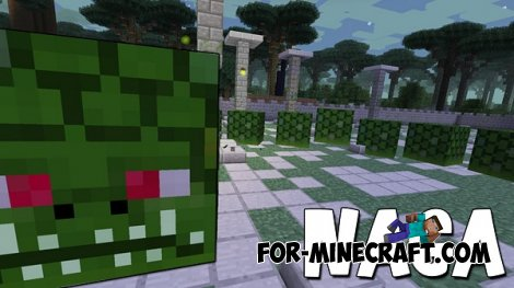 Naga Boss mod for Minecraft PE 0.10.5