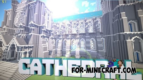 Big Cathedral map for Minecraft PE 0.10.5 / 0.11.0