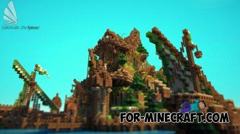 The Rykene Village map for Minecraft PE 0.10.5