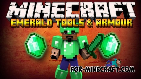EmeraldCraft Mod for Minecraft Pocket Edition 0.10.5