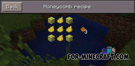 Honey Mod for Minecraft PE 0.10.5