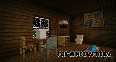 Mrcrayfish's Furniture mod for Minecraft Pocket Edition 0.11.0