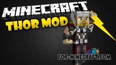 Thor mod for Minecraft PE 0.10.5
