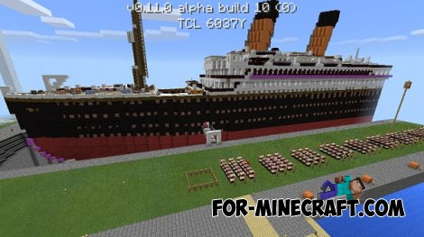 Titanic map for Minecraft PE 0.11.0