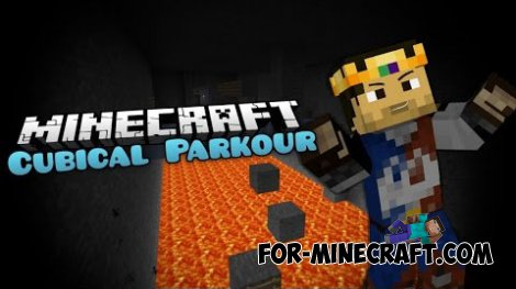 Cubical Parkour map for Minecraft 1.8