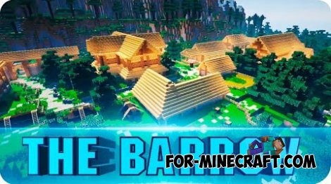The Barrow Adventure map for Minecraft 1.8.4