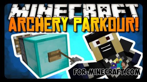 Bow Parkour map for Minecraft 1.8.4