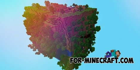 Cube World map for Minecraft PE 0.10.5 / 0.11.0