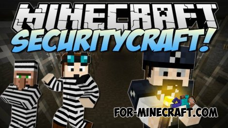 SecurityCraft mod for Minecraft 1.8