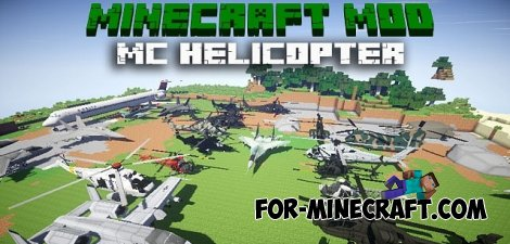 MC Heli mod for Minecraft 1.7.10