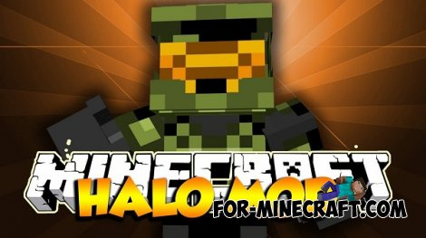 Halo mod for Minecraft 1.6.4 / 1.7.10