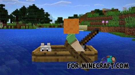 Fishing and wolves in Minecraft PE 0.11.0 build 14