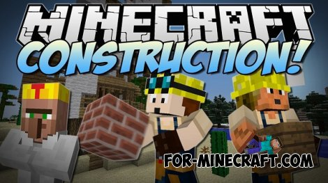 Construction Tools mod for Minecraft Pocket Edition