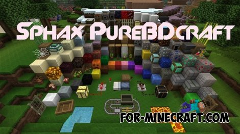 Sphax PureBDcraft Texture for Minecraft 1.8 512x