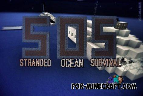 SOS: Stranded Ocean map for MCPE 0.11.0