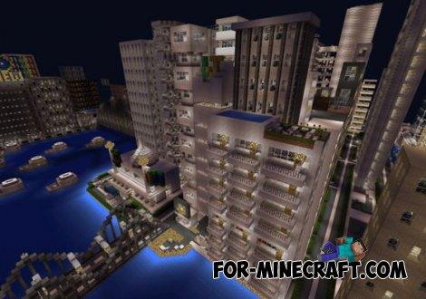 Ceylon city map for Minecraft PE 0.11.0