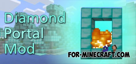 Diamond Portal Mod for Minecraft Pocket Edition
