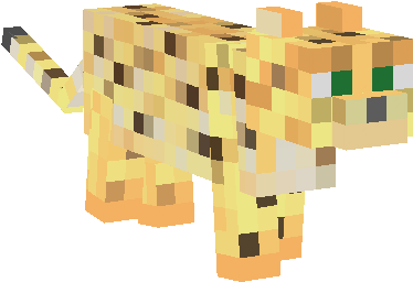 Ocelots in Minecraft PE 0.11.X