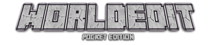 Worldedit v0.4 mod for Minecraft PE 0.11.1
