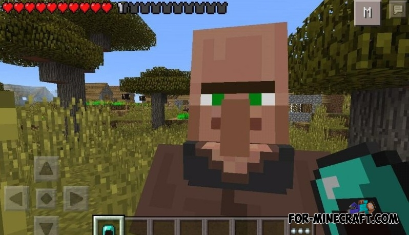 Villager traiding mod for mcpe for Decoration mod mcpe 0 14 0